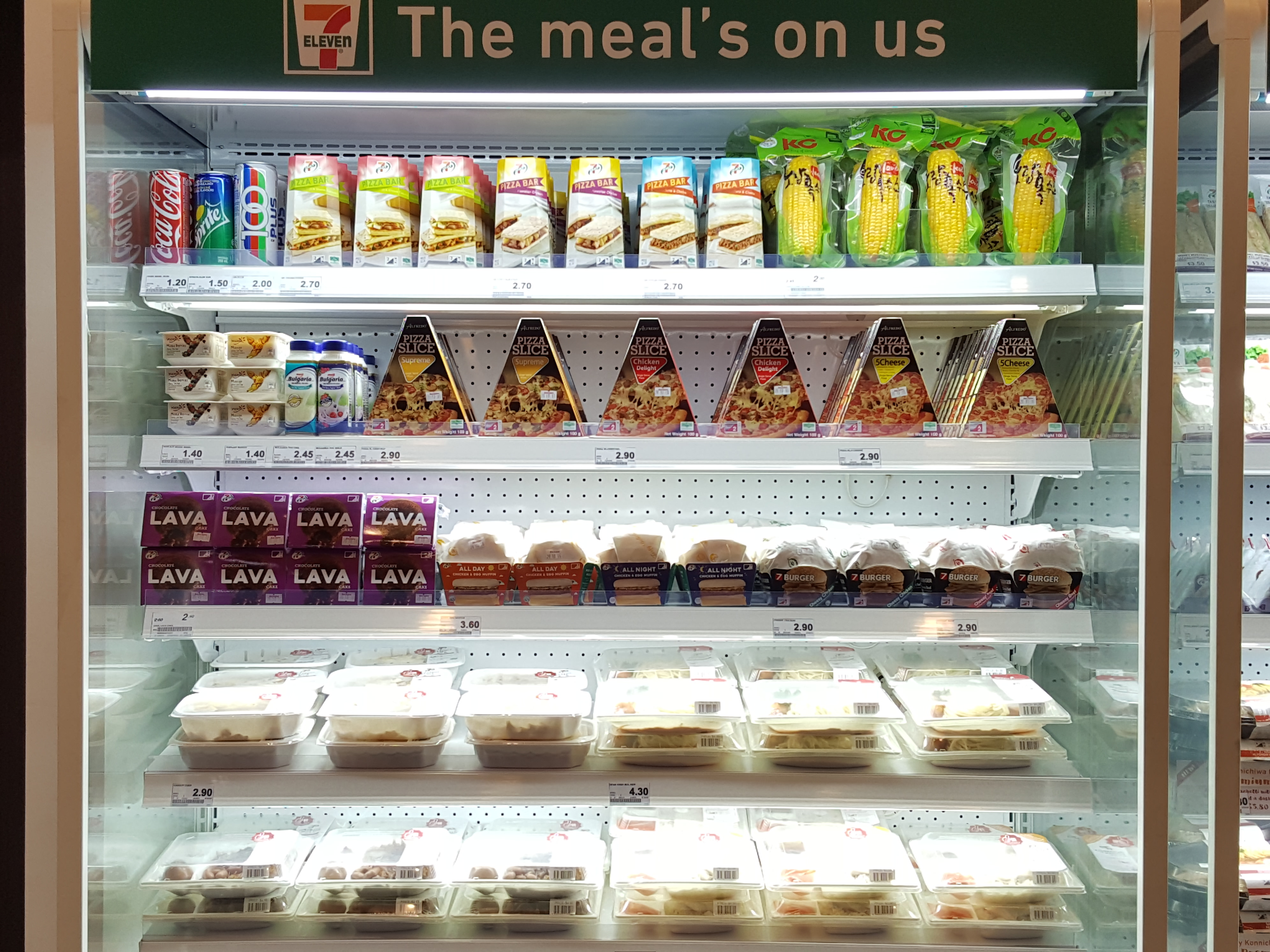 7 Eleven Singapore Fresh Chilled Ready To Eat Meals Nahmj
